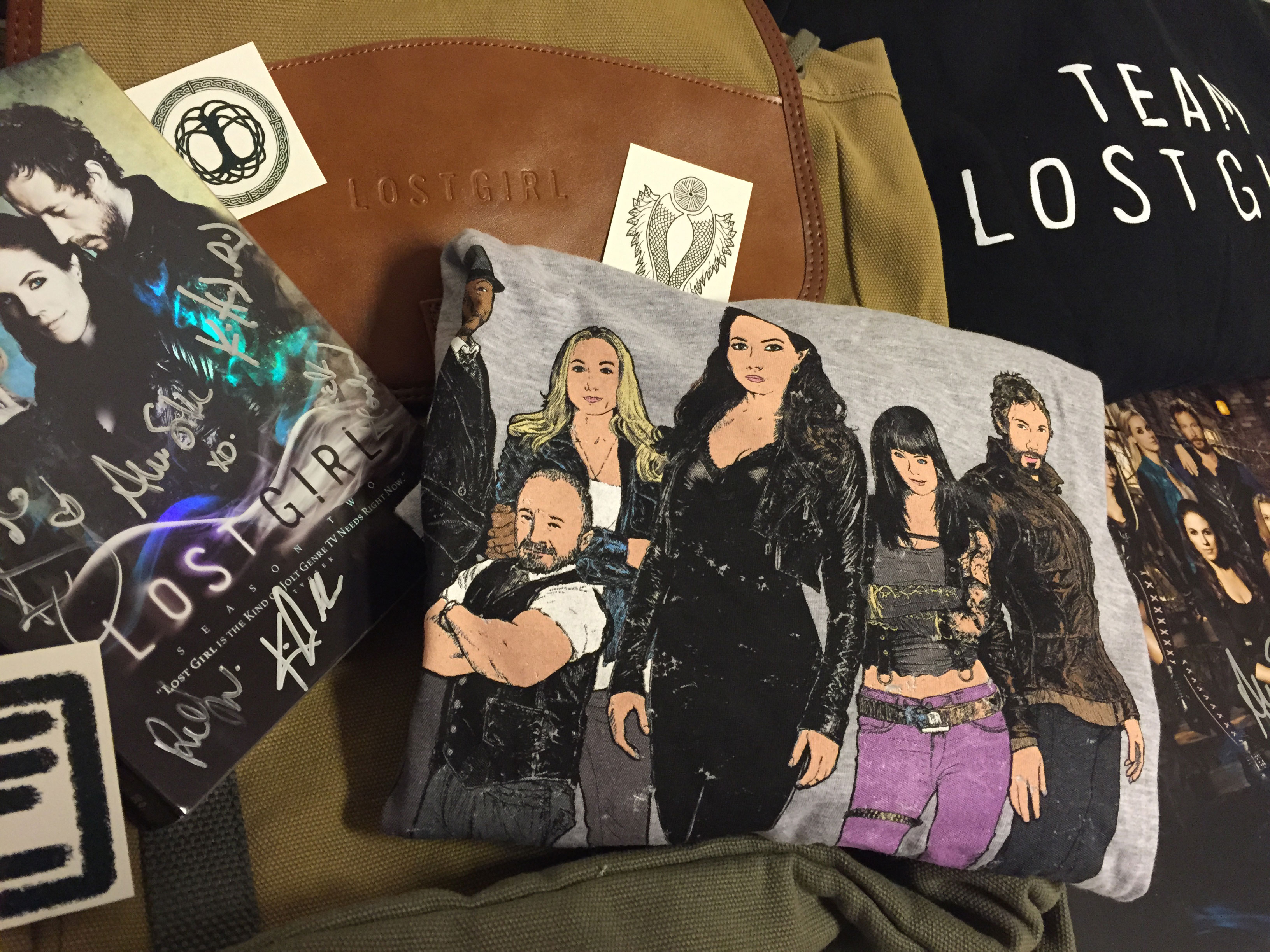 Tell us the #1 reason you love Lost Girl and you could win one amazing Lost Girl prize pack! Visit our Facebook page for your chance to win.